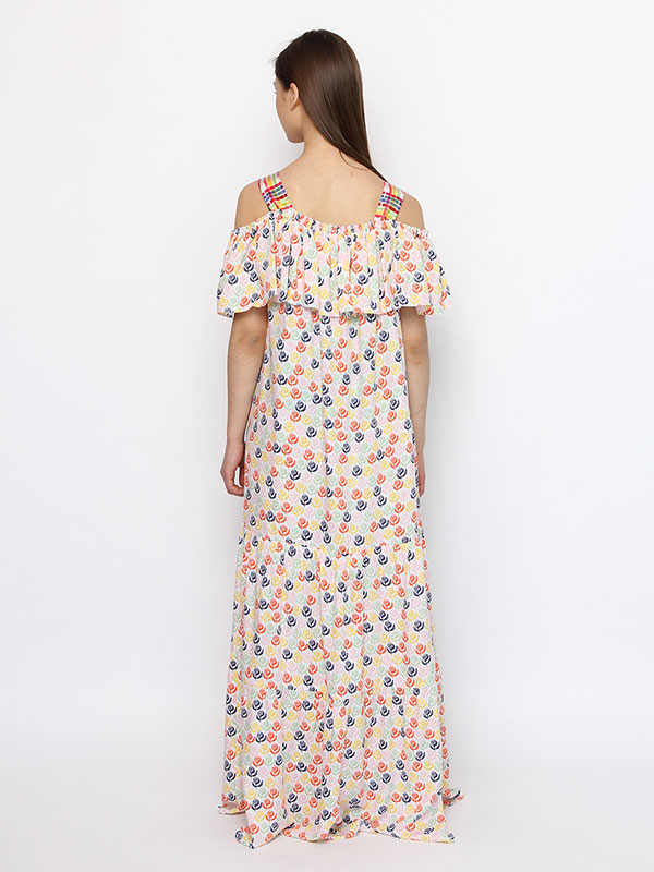 Платье-сарафан По клетке